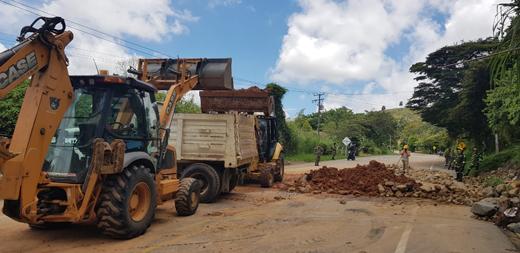 Hoy se restablece flujo vehicular en la vía Panamericana