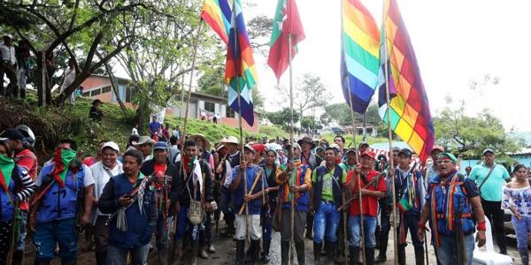 La lucha indígena por su supervivencia