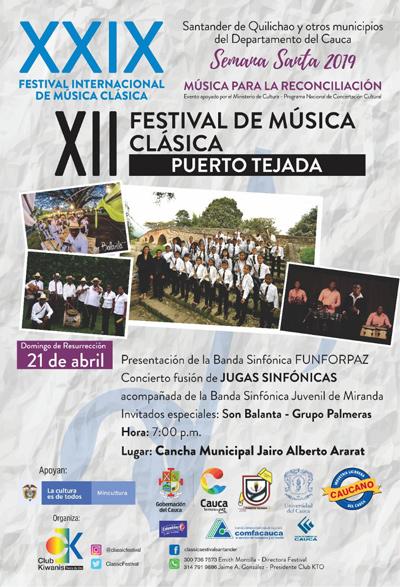 Programación Municipio de Puerto Tejada