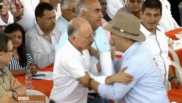 Así fue el fuerte rifirrafe entre Duque y Ortega