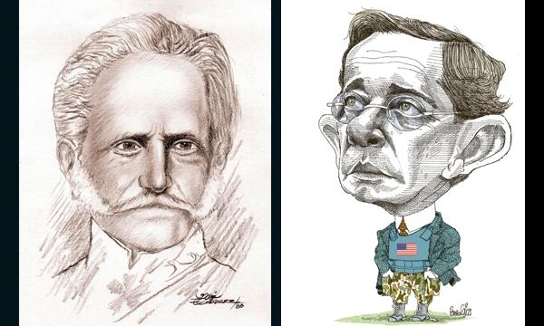 Tomas Cipriano de Mosquera, Álvaro Uribe, adictos al poder