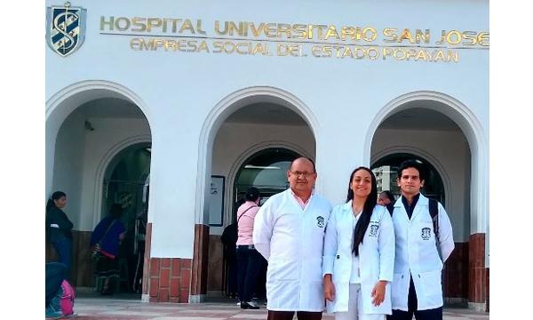Estudiantes de medicina de Unicauca exponen sus investigaciones en Alemania