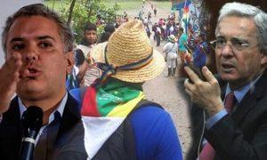 Uribe protesta por apertura de la Panamericana