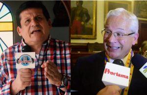 Víctor Libardo Ramírez y Juan Carlos López