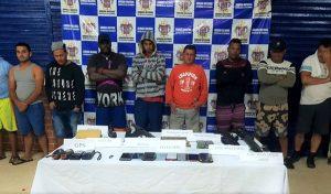 Cárcel para 11 extranjeros por tráfico de armas