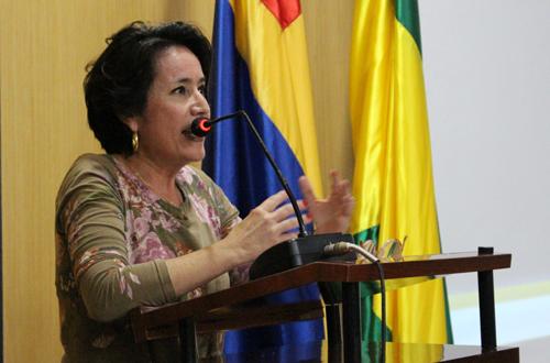 Ana Fernanda Muñoz Otoya, directora ejecutiva CCC