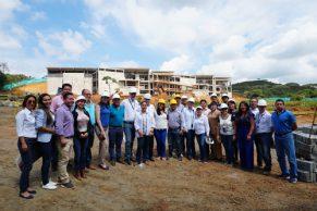 Consejo Superior de Unicauca visitó obras de la Ciudadela Universitaria