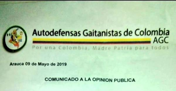 Amenazado periodista Emiro Goyeneche por las AGC en Arauca