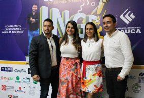 Premiados ganadores del Concurso Ingeniando en el Cauca