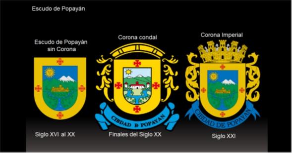 Escudo de la ciudad de Popayán