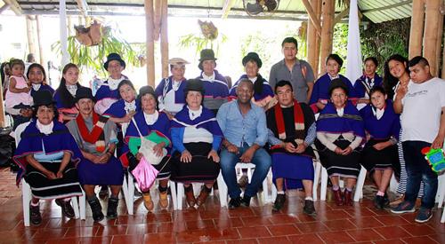 Respaldo comunidades indígenas Misak