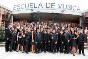 Entrega de infraestructura cultural en la que se invirtieron $2.621 millones que permitirá la formación de nuevos músicos, el afianzamiento de tradiciones sonoras y la exploración musical.