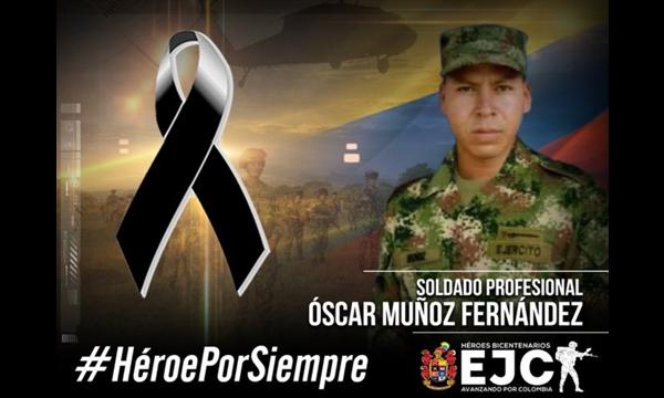 Murió soldado en combates entre Ejército y disidencias Farc