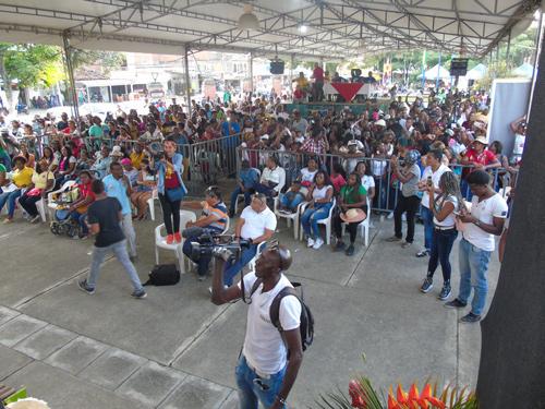 Alcaldesa del municipio anfitrión, Jenny Nair Gómez, atendió al festival más importante del suroccidente colombiano con lujo de detalles.