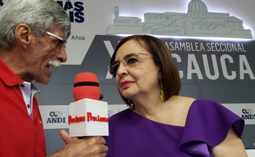 Yolanda Garcés, gerente ANDI Seccional Cauca
