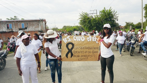 ¡No nos disparen más! Clamor en Guachené