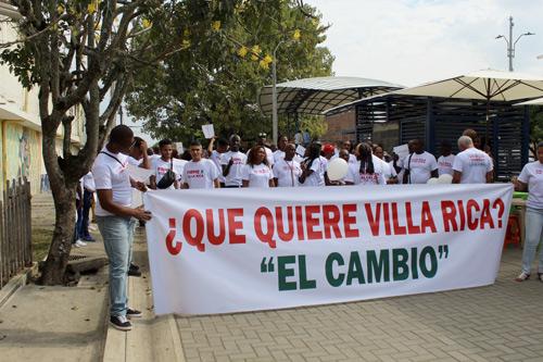 """Diego Luis Obregón: """"Villa Rica clama cambio"""""""
