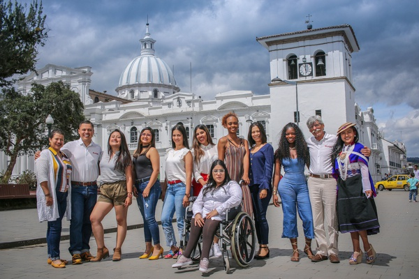 El domingo en Popayán…