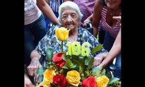 Falleció doña Anita, iba a cumplir 107 años