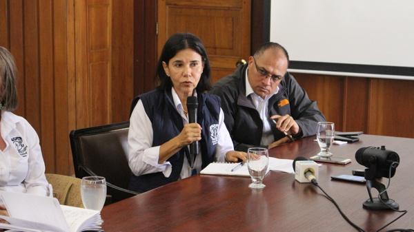 Jefe de la Oficina de Control Interno, Lucía Amparo Guzmán Valencia