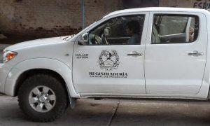 Se robaron una camioneta de la Registraduría en Caloto