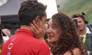 Xiomara Guerrero: la novia campeona de Egan Bernal