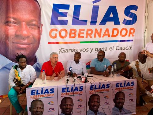 """""""Me articularé con todas las regiones del Cauca"""" Elías Larrahondo"""