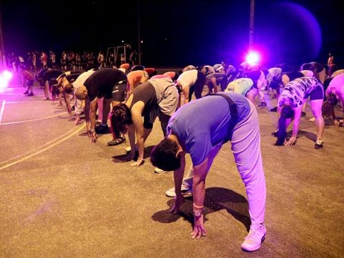 160 payaneses participaron de la maratón Villa en Movimiento