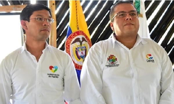 gobernadores del Cauca y Nariño (Campo y Romero)