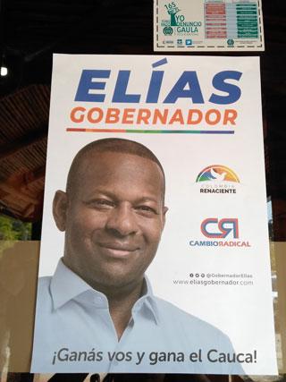Elías Larrahondo recibió aval de Colombia Renaciente