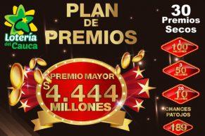 El premio mayor del Cauca cayó en Bogotá