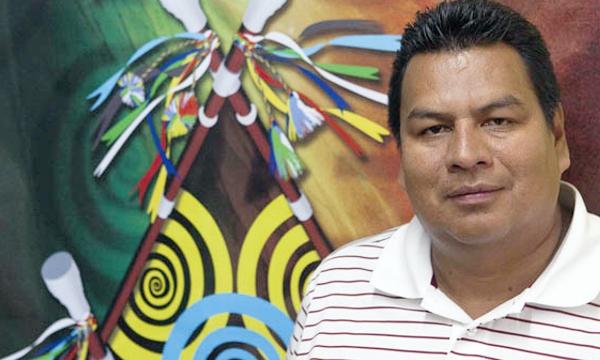 En Caldono, Vicente Otero, el candidato de la unidad
