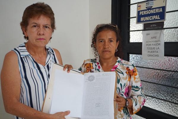 Luz Dary Bustos González, docente I.E. Santa Inés / Sandra Patricia Orozco Cruz, coordinadora I.E. Fernández Guerra, sede Santa Inés.