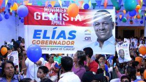 Multitudinario acompañamiento a Elías Larrahondo en inauguración de sede