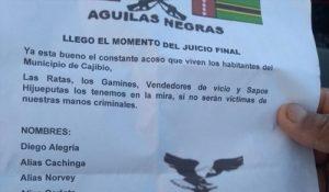 Orden público se altera de nuevo en el Cauca