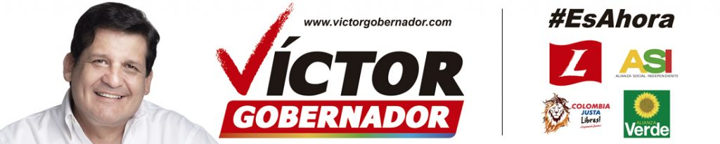 Víctor Ramírez - Gobernador del Cauca