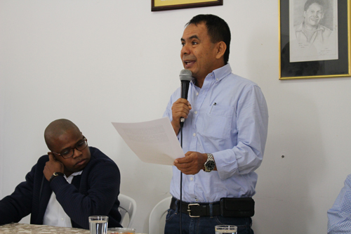 En rueda de prensa en la ciudad de Popayán se anunció la adhesión del precandidato a la Gobernación del Cauca y exalcalde de Santander de Quilichao, Luis Eduardo Grijalba Muñoz