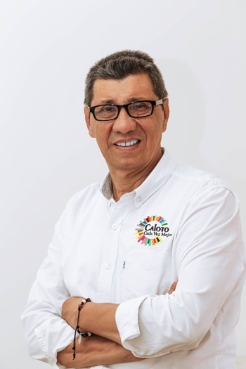 Gonzalo Ramírez Velasco, candidato a la alcaldía de Caloto 2020-2023