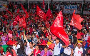 Elías Larrahondo recibe apoyo del sur del Cauca