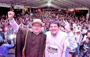 El oriente del Cauca apoya a Víctor Ramírez
