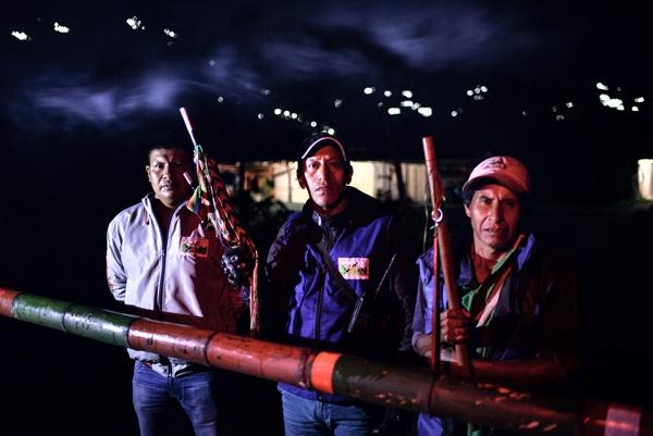 guardias indígenas