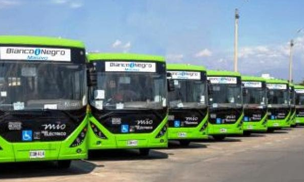 Flota de buses eléctricos para Cali