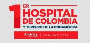 """La Fundación Cardioinfantil, institución hospitalaria ubicada en Bogotá, se posiciona como el mejor hospital de Colombia y tercero de Latinoamérica, según el ranking de la revista América Economía. Este reconocimiento se atribuye al cumplimiento de los parámetros evaluados por el ranking, como: seguridad y experiencia del paciente, capital humano, gestión del conocimiento, entre otros factores. 24 de las 58 clínicas y hospitales que hacen parte de este ranking son colombianos, exaltando las buenas prácticas y el trabajo colaborativo de todos los actores del sector salud del país. Basados en la premisa de la libre elección, los colombianos pueden elegir una atención de clase mundial para su corazón y ser atendidos en la Fundación Cardioinfantil. En la actualidad, más instituciones prestadoras de salud en Colombia y Latinoamérica se esfuerzan por mejorar la calidad y la atención en su servicio, así lo demuestra la revista América Economía, que cada año realiza un ranking donde califica a las mejores clínicas y hospitales de América Latina, evaluando aspectos claves para lograr una atención integral, como: la seguridad y experiencia del paciente, el capital humano, la gestión del conocimiento y la eficiencia. La fundación se enfoca en la atención de patologías de alta complejidad en medicina cardiovascular y trasplante, es uno de los hospitales que más ha sobresalido en estos aspectos. Es por esto que hoy se posiciona en el ranking como el hospital número 1 de Colombia y el tercero en América Latina. """"Estamos muy orgullosos por ser catalogados hoy como el mejor hospital de Colombia y, en un año, pasar del quinto al tercer lugar en el ranking de mejores clínicas y hospitales de Latinoamérica. Así demostramos que nuestro compromiso por alcanzar la excelencia clínica y brindar una atención integral y humanizada a nuestros pacientes no se detiene. Un logro posible gracias a quienes han confiado en nosotros, eligiéndonos como la mejor opción para el cuidado de su salud y bi"""