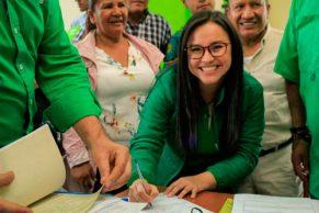 Martha Lucía Ágredo, una candidata con trayectoria