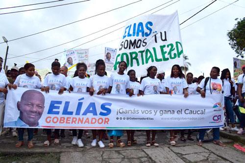 Pacífico caucano decide apoyar a Elías Larrahondo