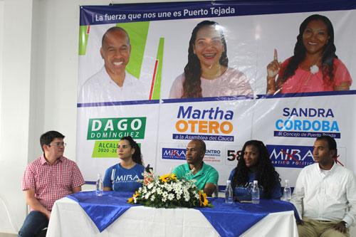 Partido Político Mira se suma a la candidatura de Dagoberto Domínguez