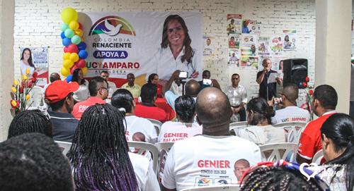 Partido de Elías certificó apoyo a Lucy Amparo en Quilichao