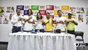 Piñacué y Autoridades Indígenas también apoyan a Lucy Amparo