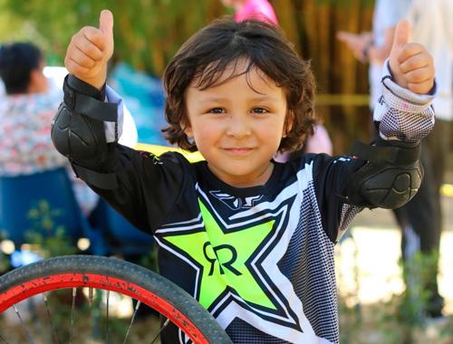 Se realizó Bicicross infantil