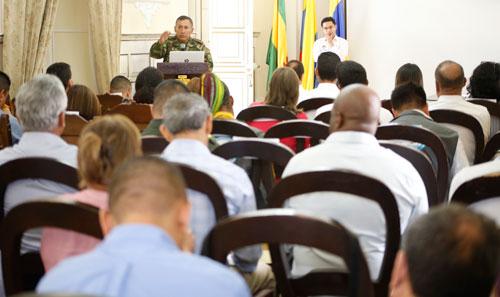 Se realizó el segundo Comité de Justicia Transicional
